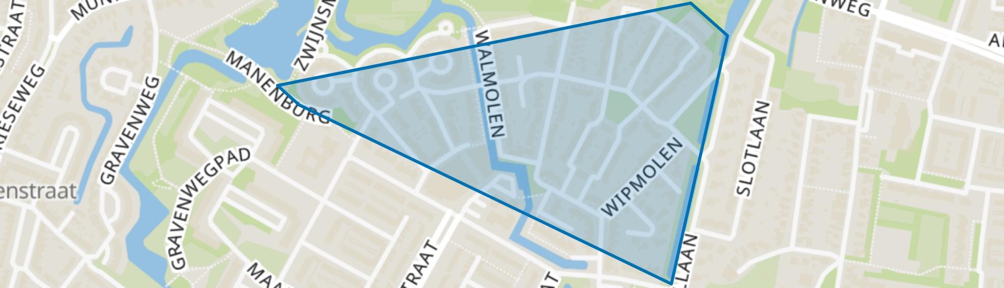 Oudorperpolder-Noord, Alkmaar map