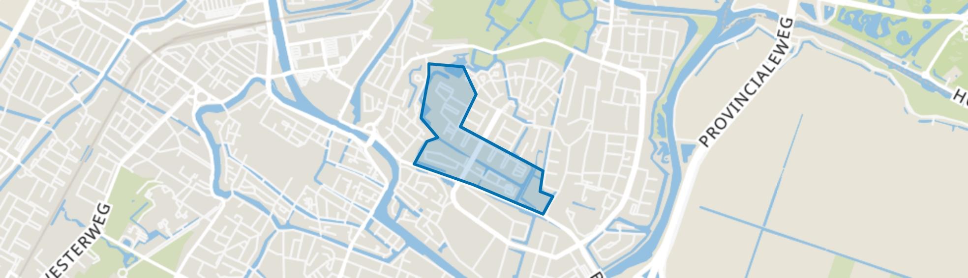Oudorperpolder-Zuid, Alkmaar map