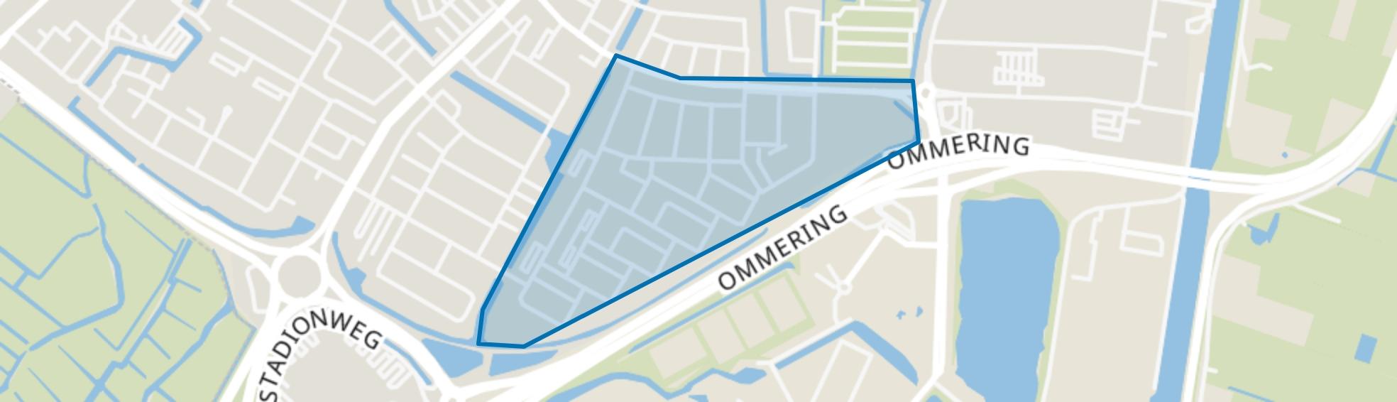 Overdie-Oost, Alkmaar map