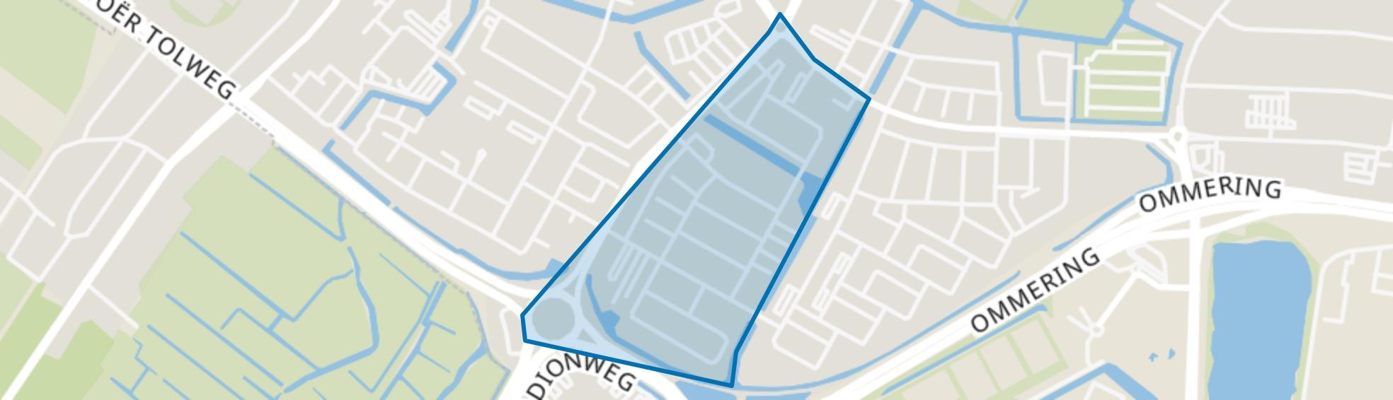Overdie-West, Alkmaar map