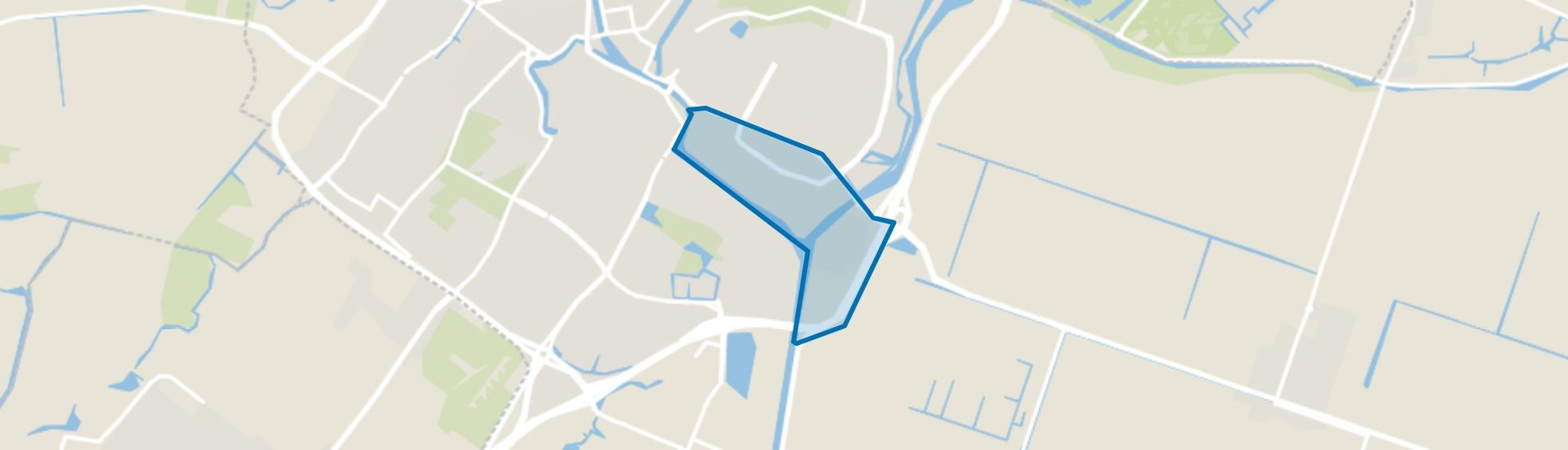 Schermereiland en Omval, Alkmaar map