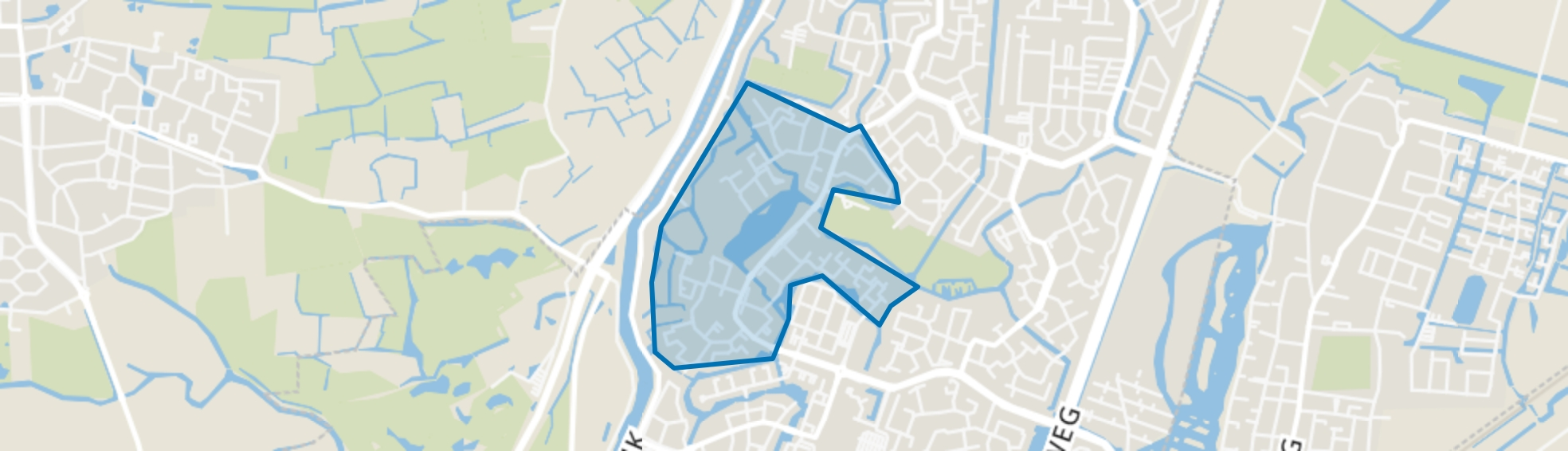 't Rak-Noord, Alkmaar map