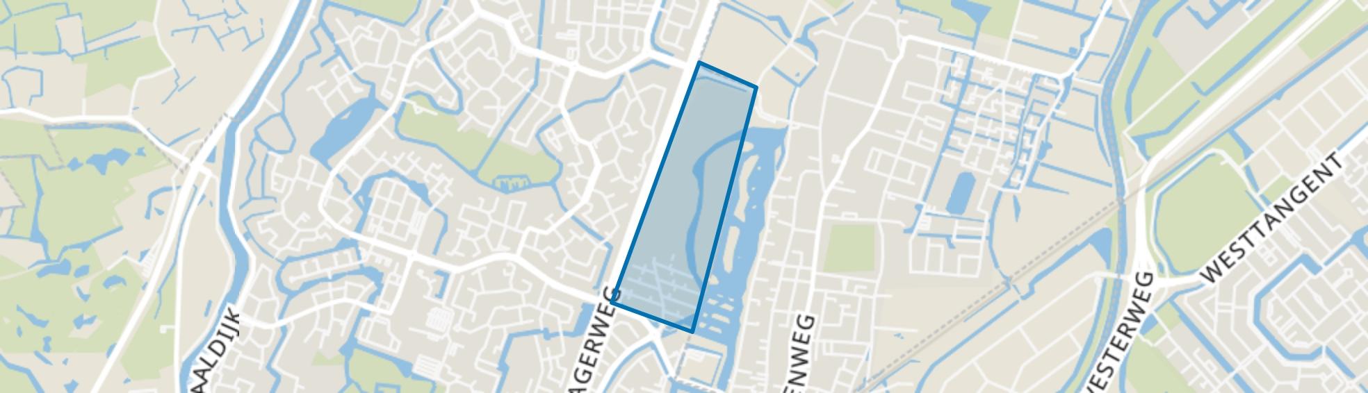 Vroonermeer-Noord, Alkmaar map