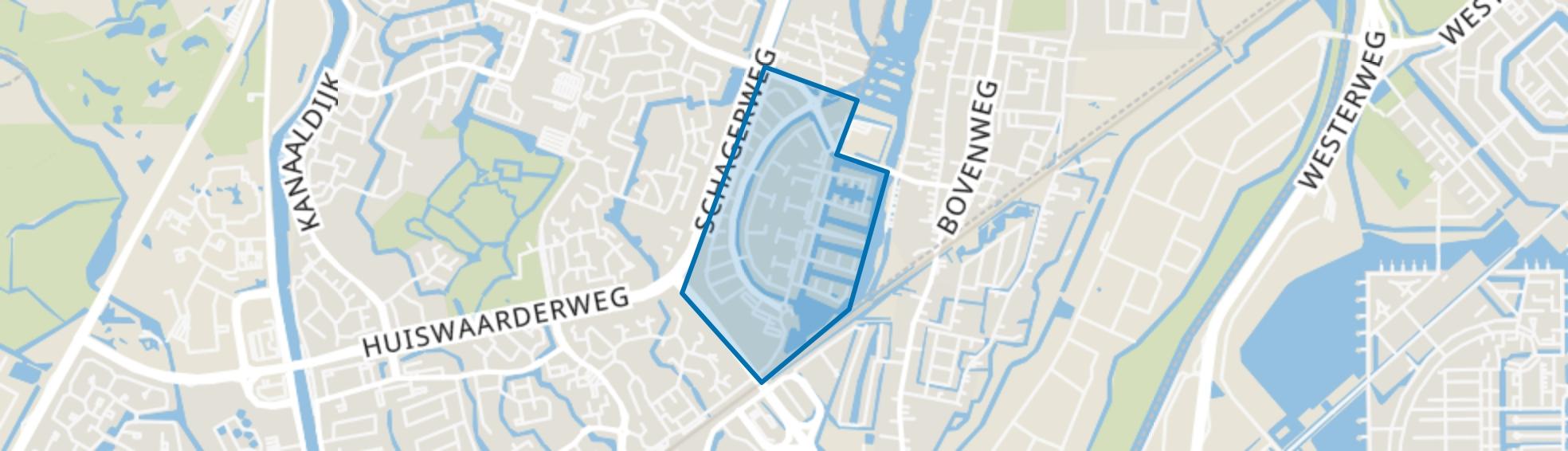 Vroonermeer-Zuid, Alkmaar map
