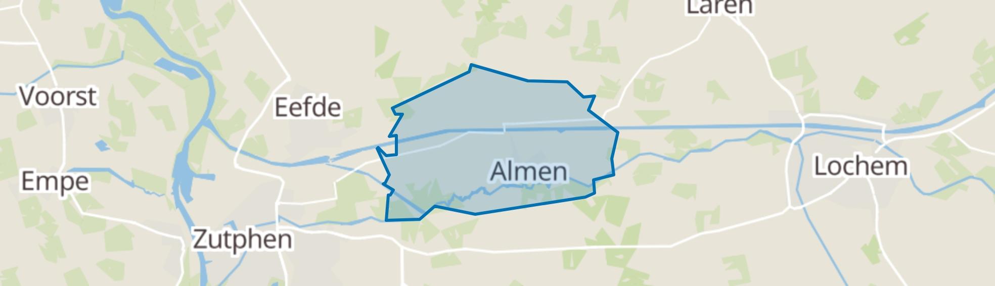 Almen map