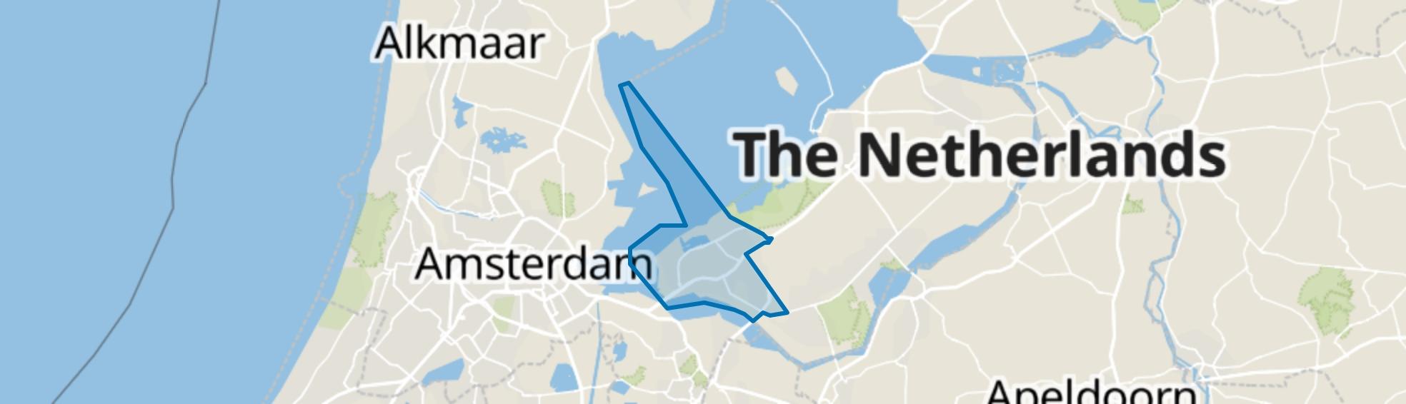 Almere map