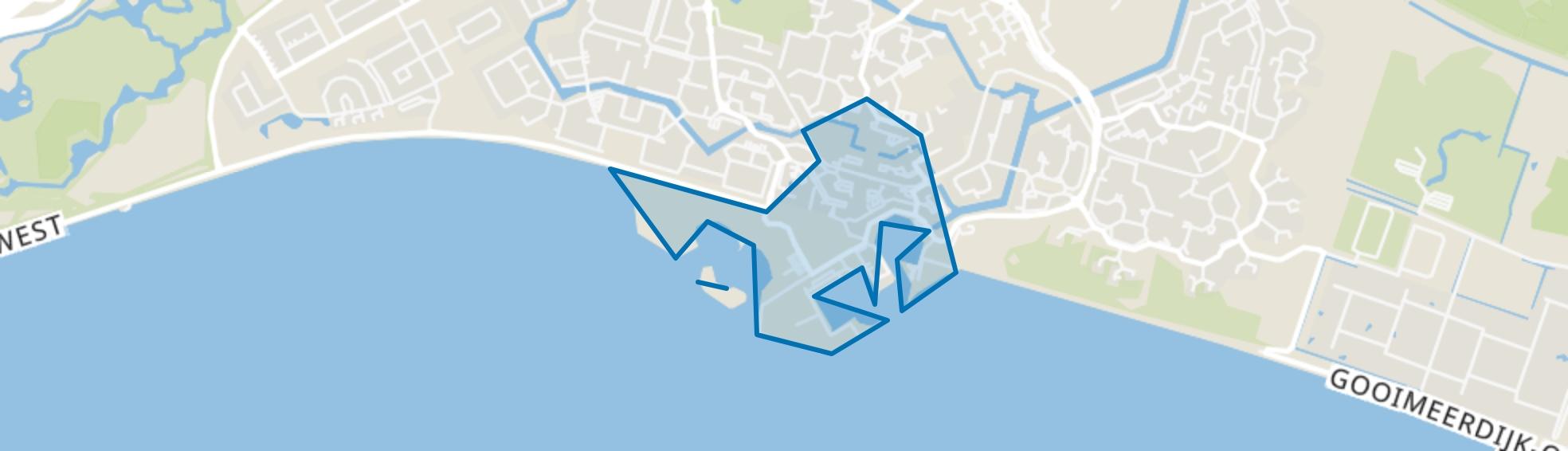 Centrum Almere Haven, Almere map