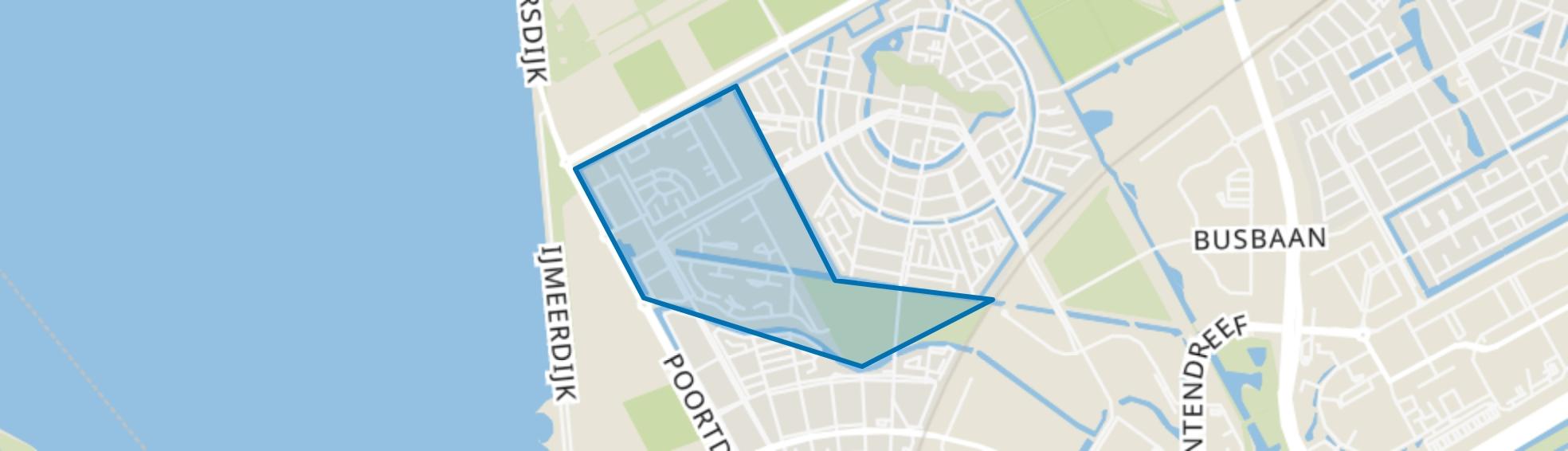 Columbuskwartier, Almere map
