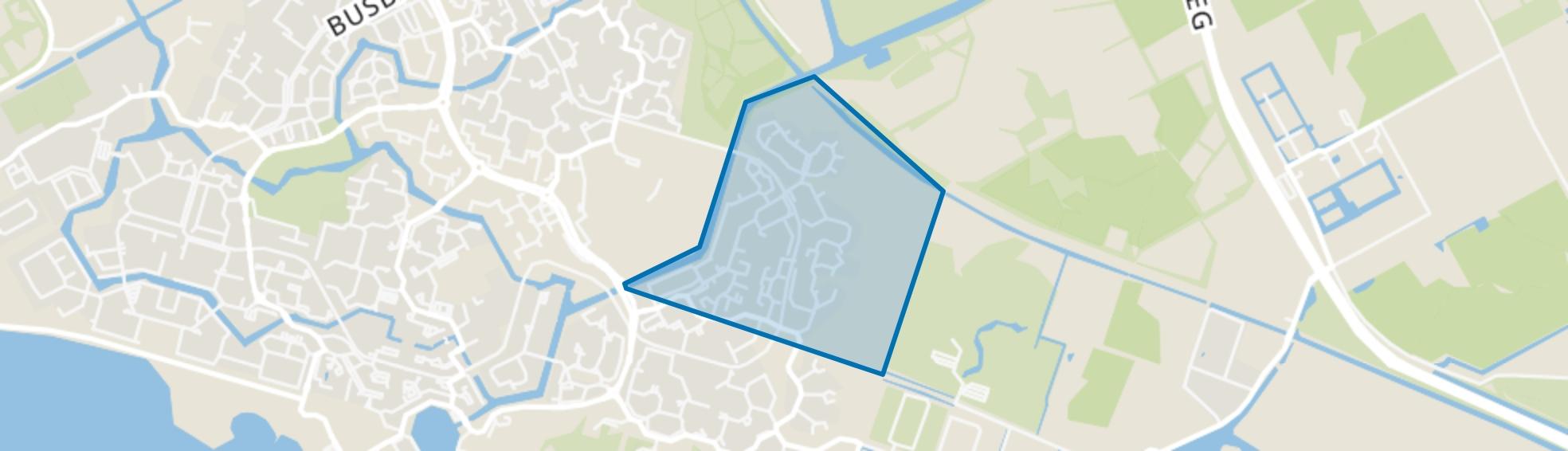 De Grienden, Almere map