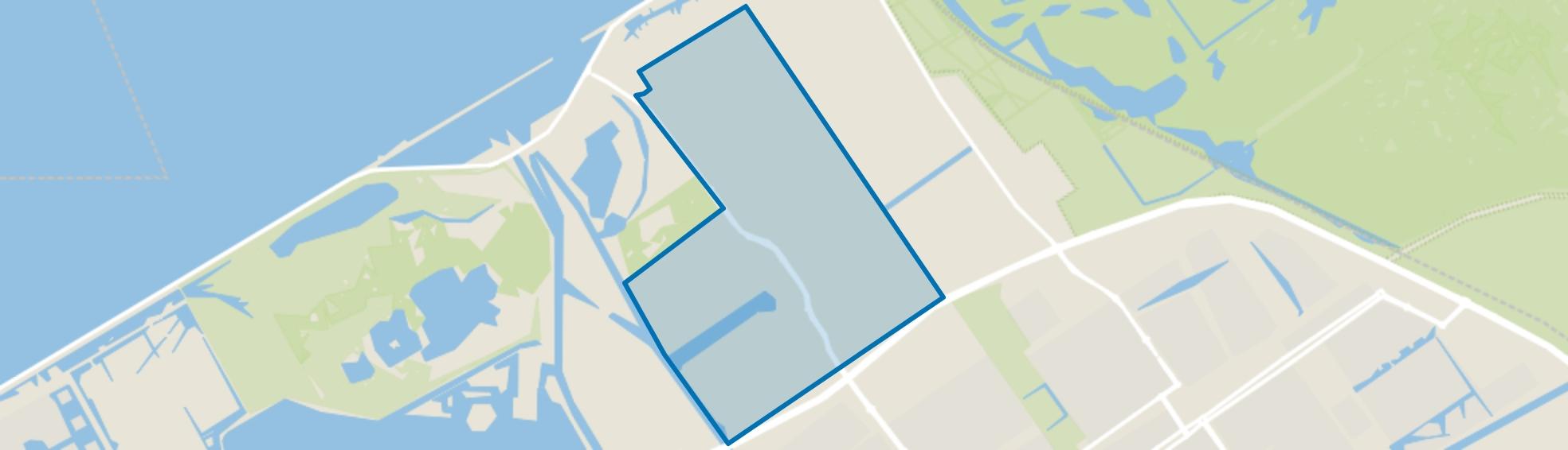 De Vaart, Almere map