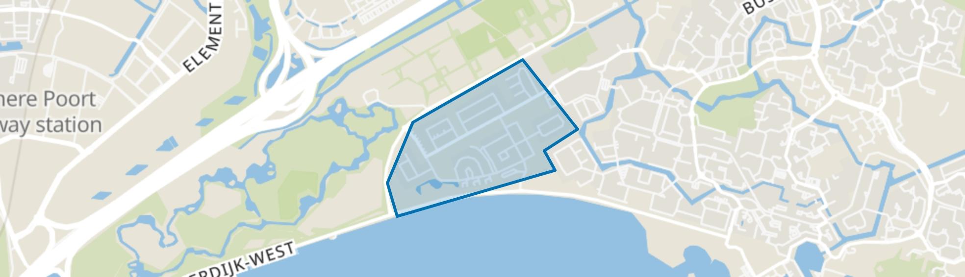 De Velden, Almere map