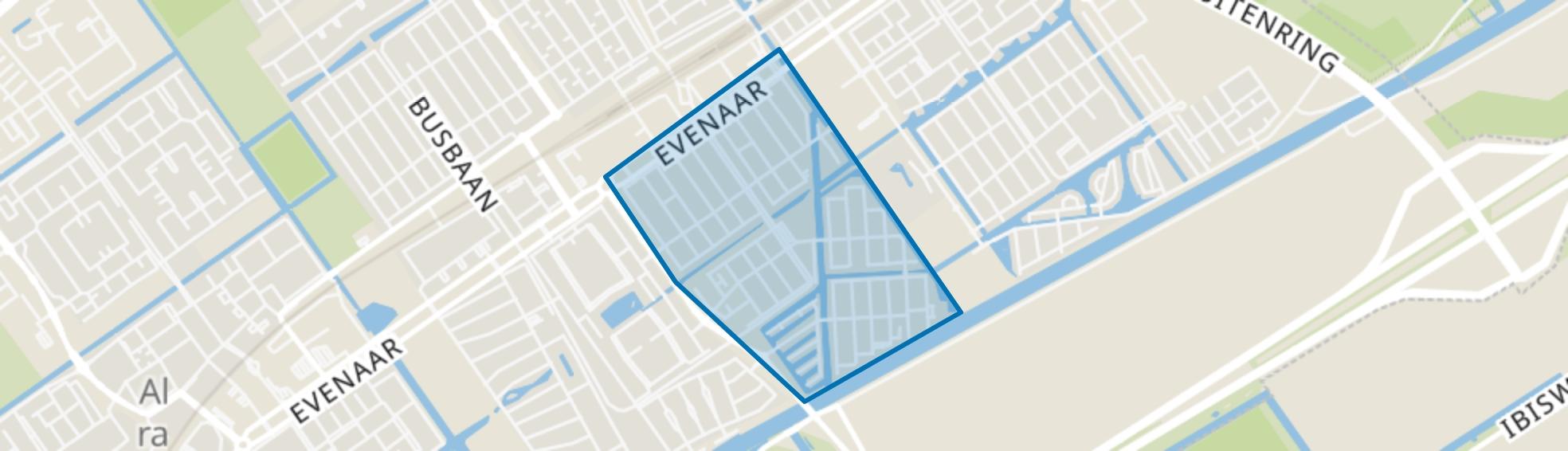 Eilandenbuurt, Almere map