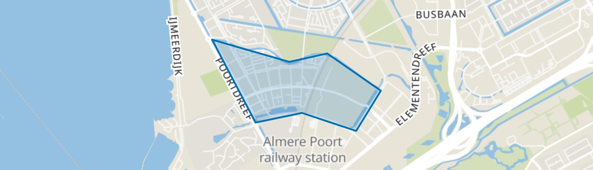 Europakwartier, Almere map