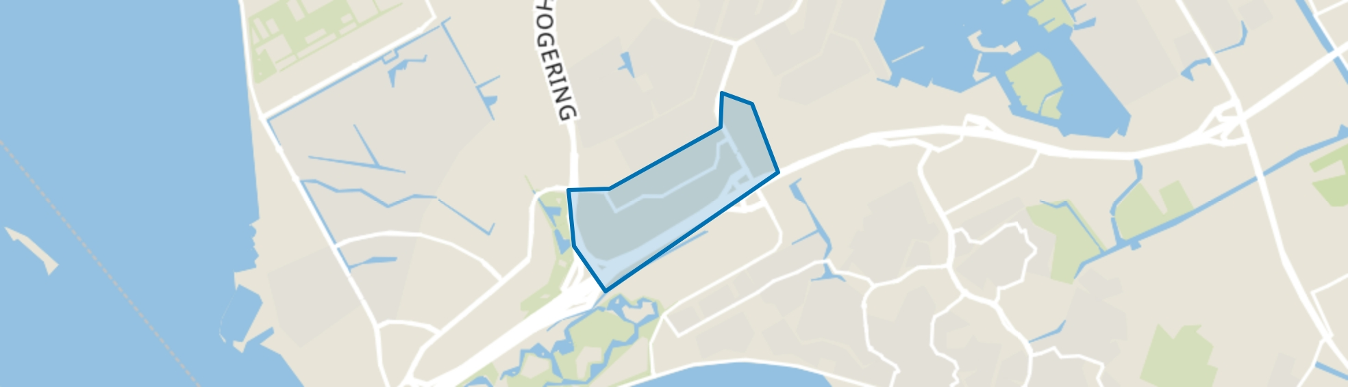 Gooisekant, Almere map