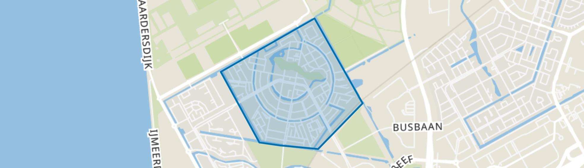 Homeruskwartier, Almere map