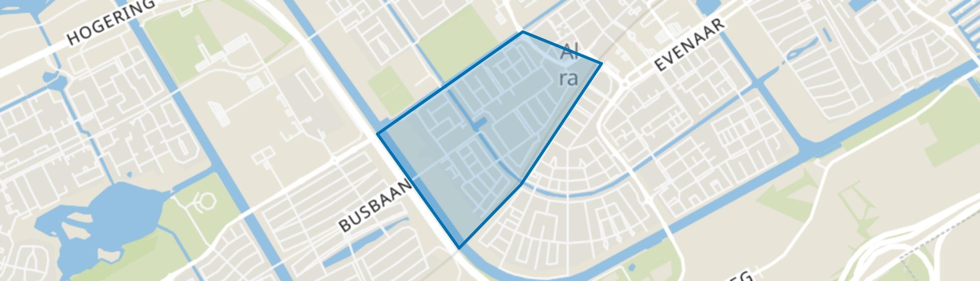 Landgoederenbuurt, Almere map