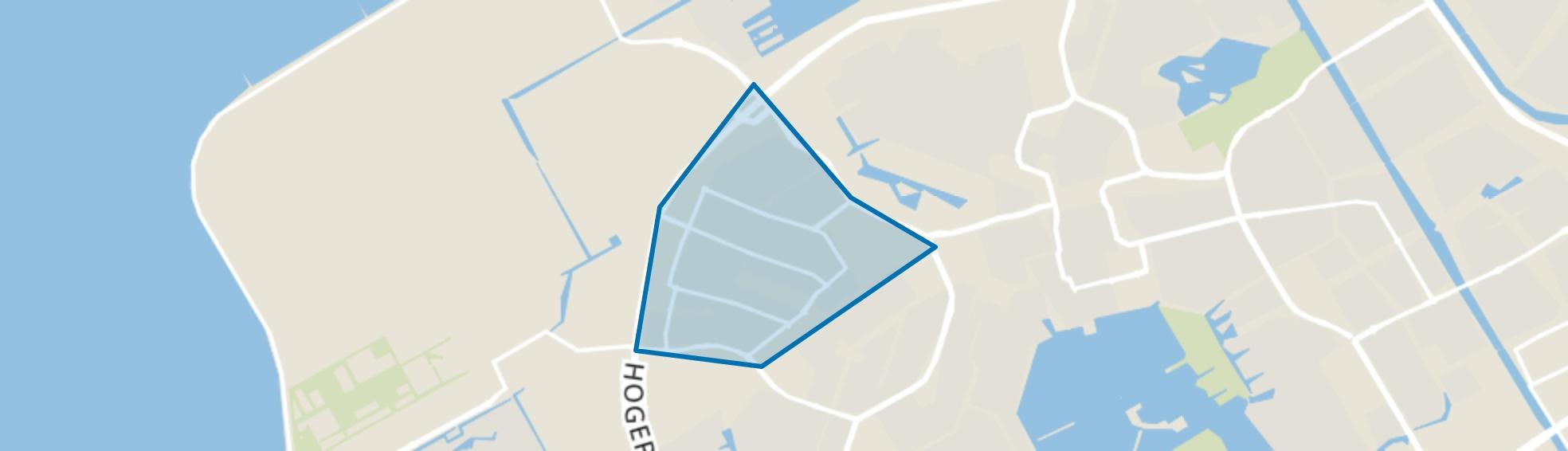 Muziekwijk Noord, Almere map
