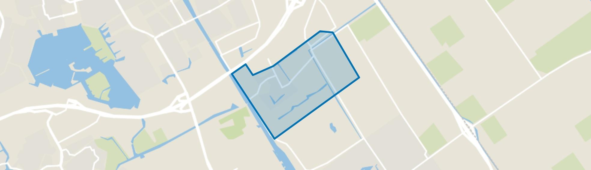 Nobelhorst, Almere map