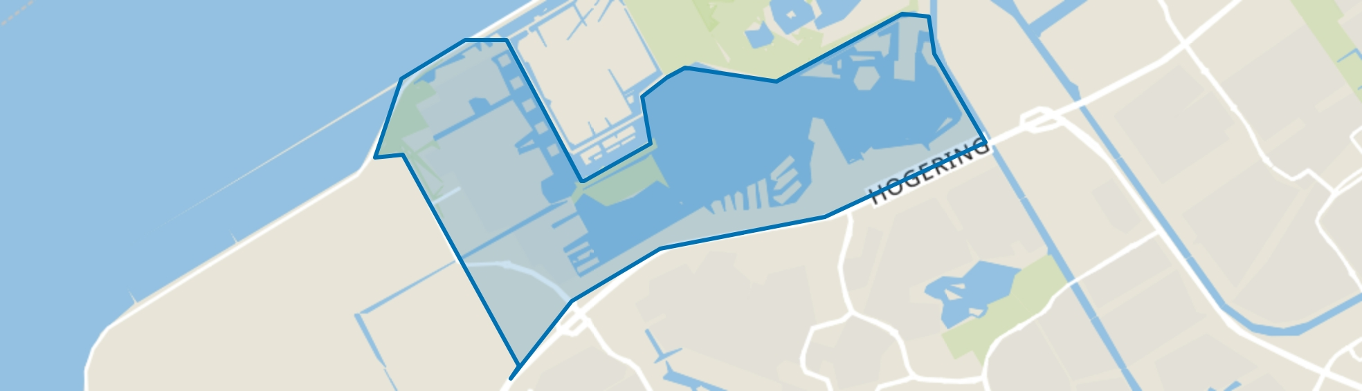 Noorderplassen, Almere map