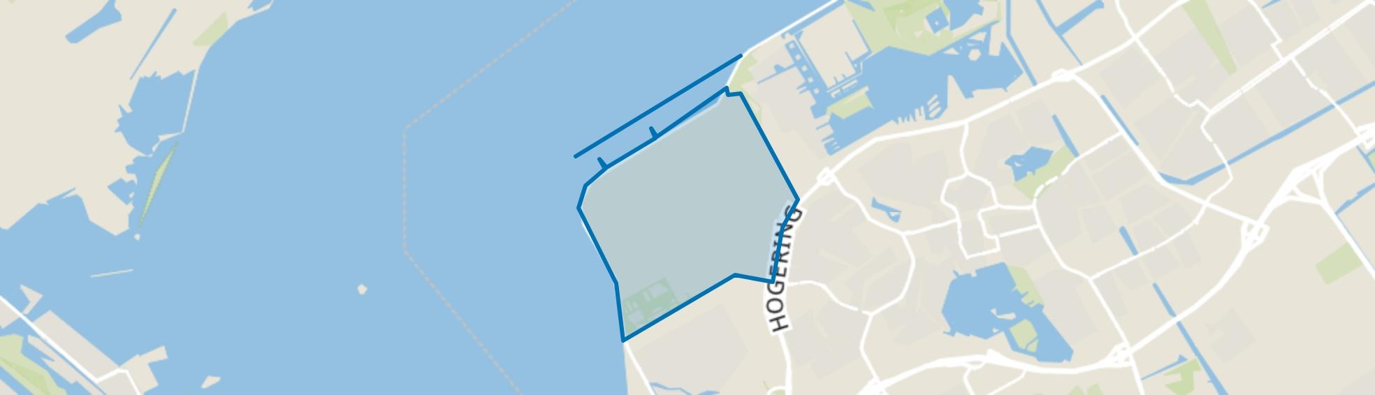 Overig Almere Pampus, Almere map