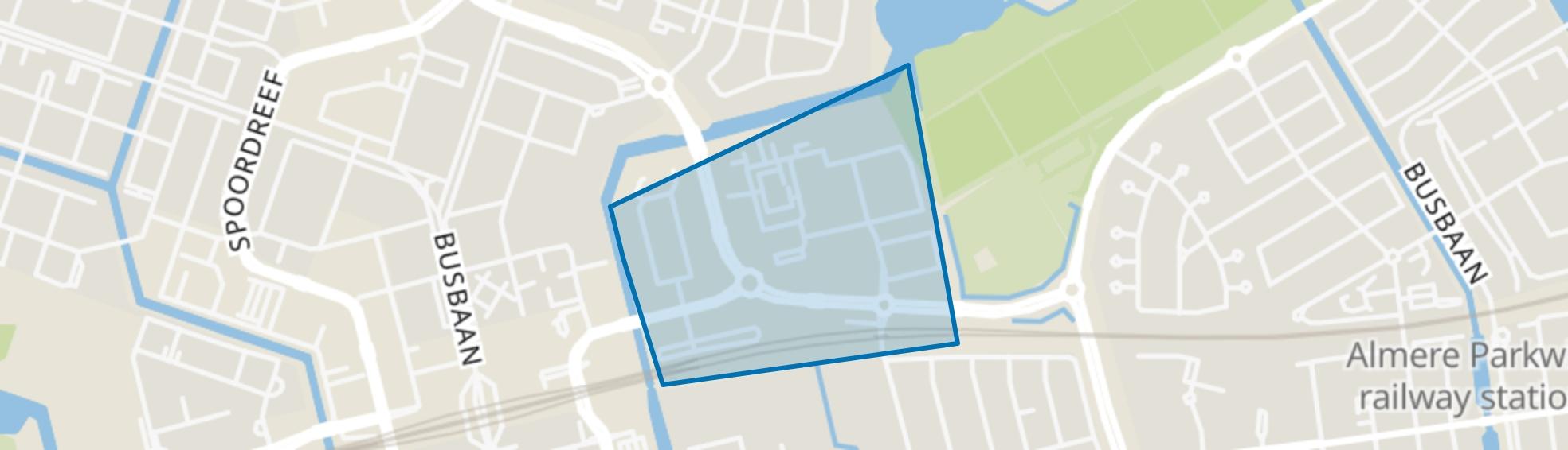 Randstad, Almere map