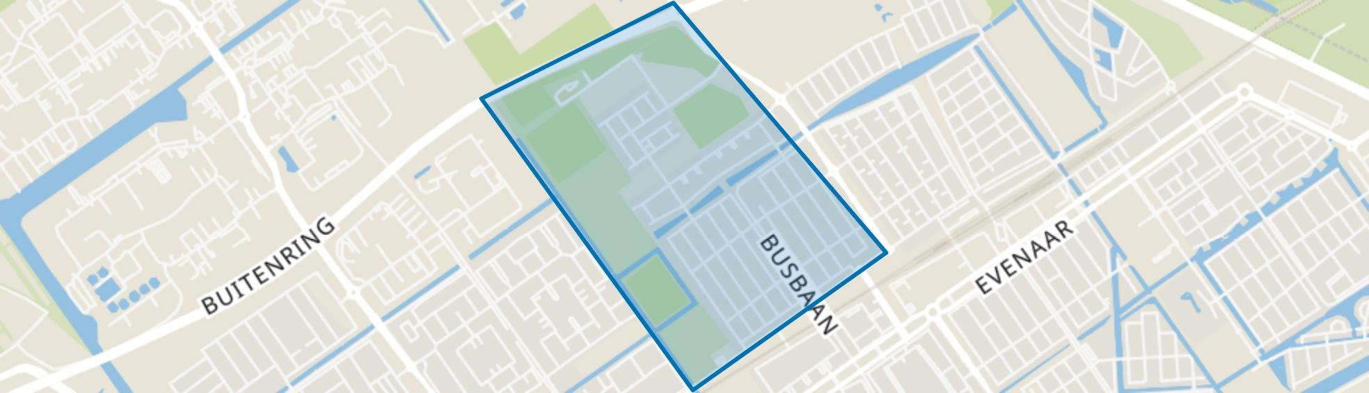 Seizoenenbuurt, Almere map