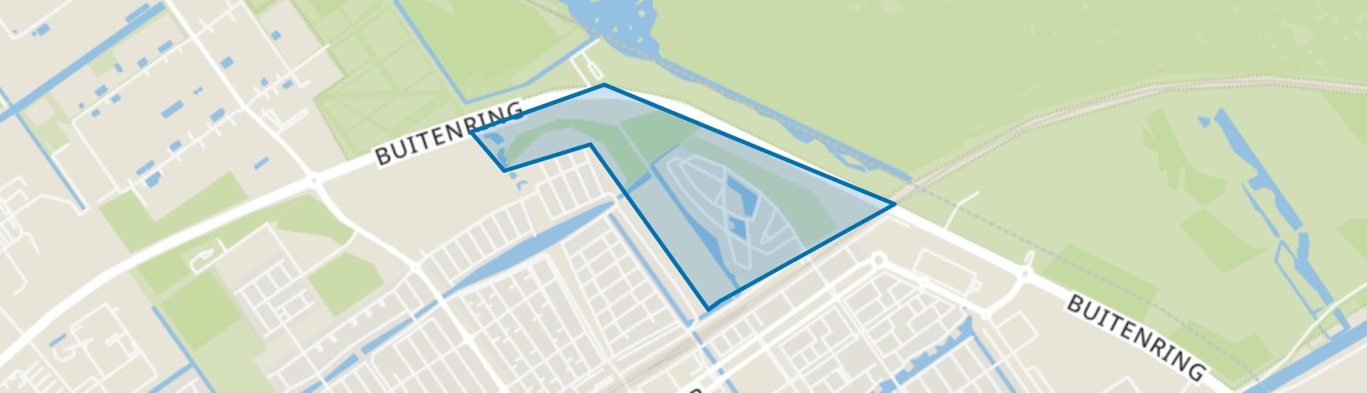 Sieradenbuurt, Almere map