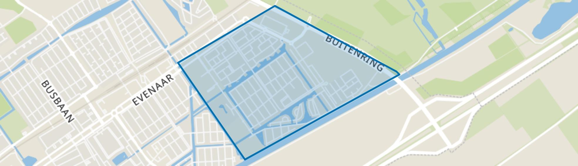 Stripheldenbuurt, Almere map