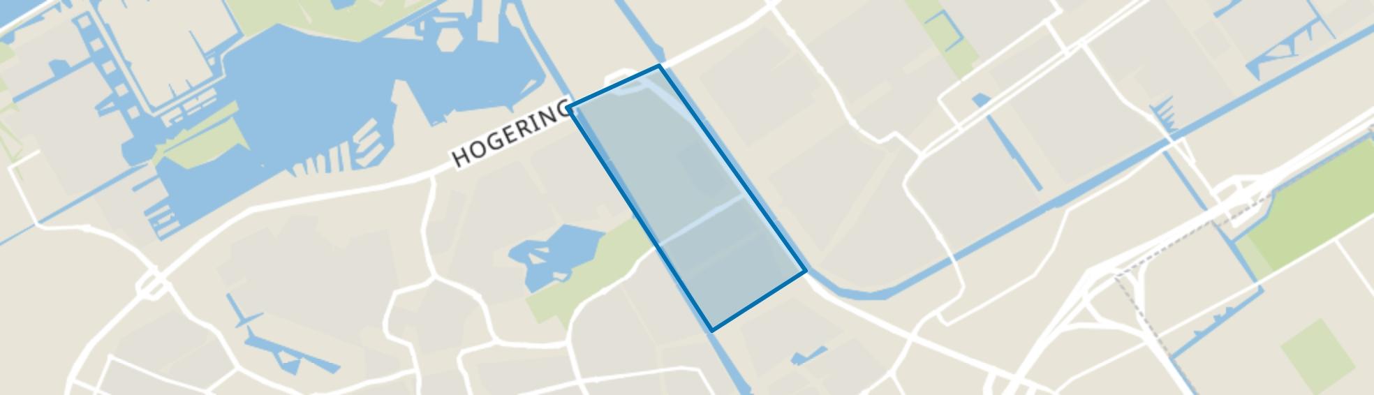 Tussen de Vaarten Noord, Almere map