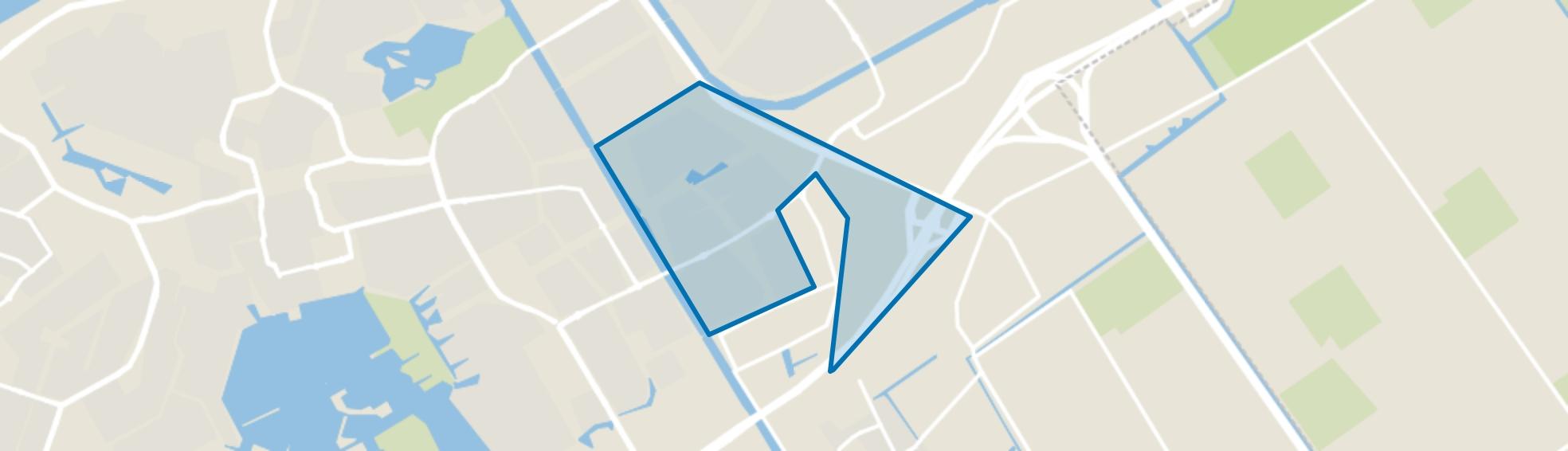 Tussen de Vaarten Zuid, Almere map