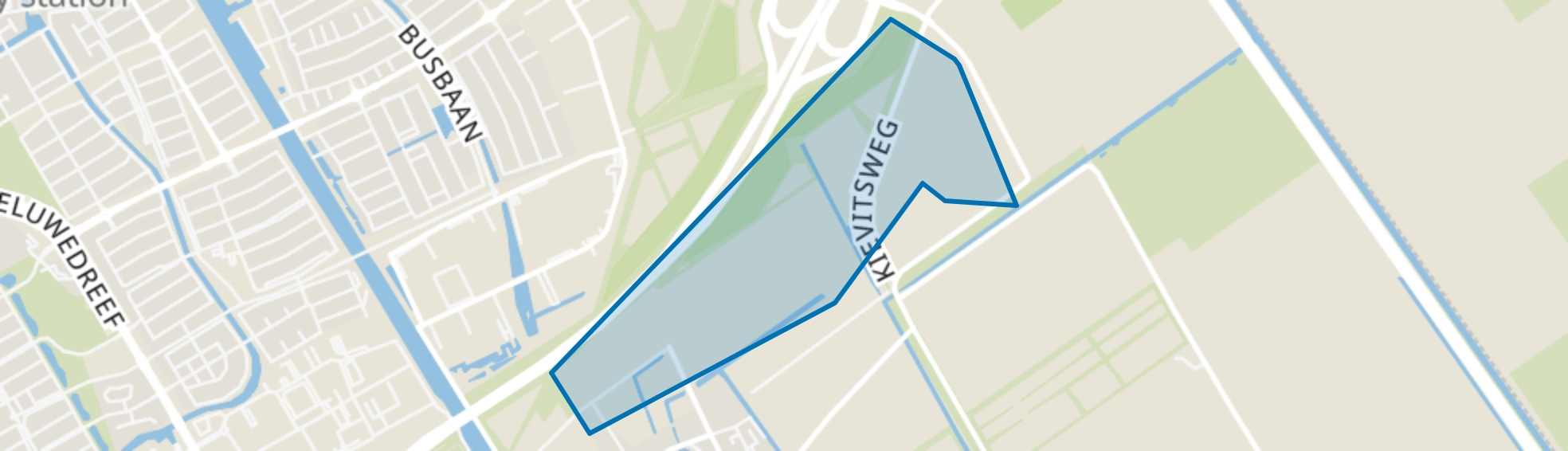 Twentsekant, Almere map