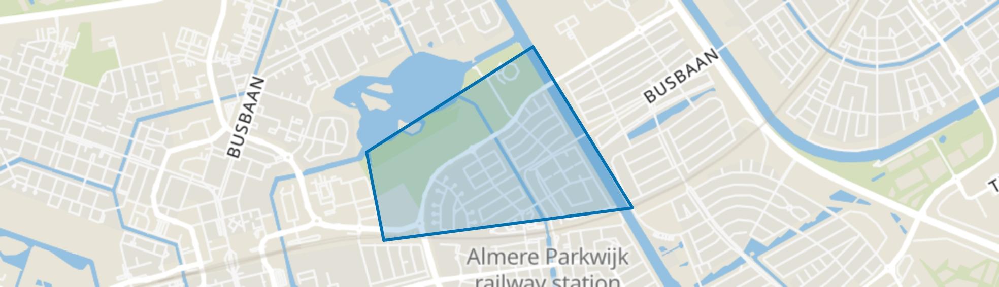 Verzetswijk, Almere map