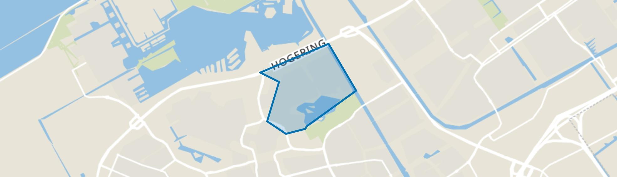 Waterwijk, Almere map