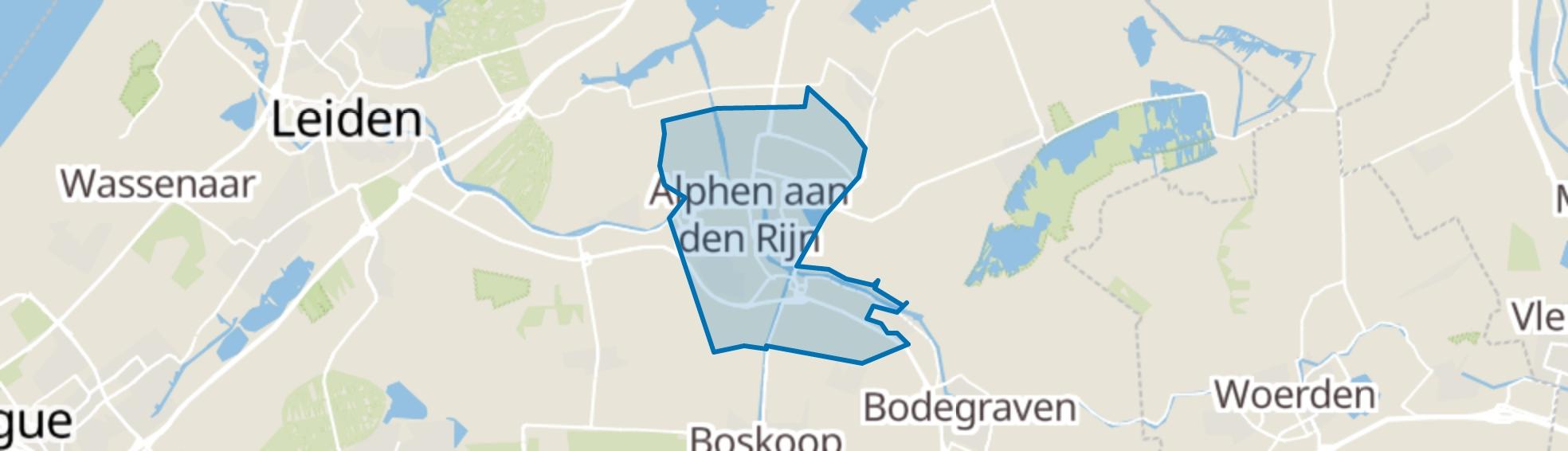 Alphen aan den Rijn map