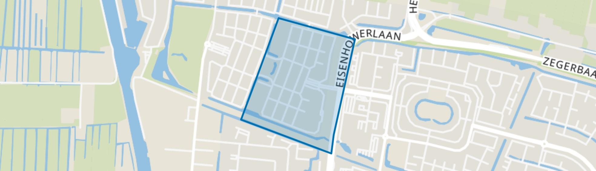 Ambachtenbuurt-Oost, Alphen aan den Rijn map