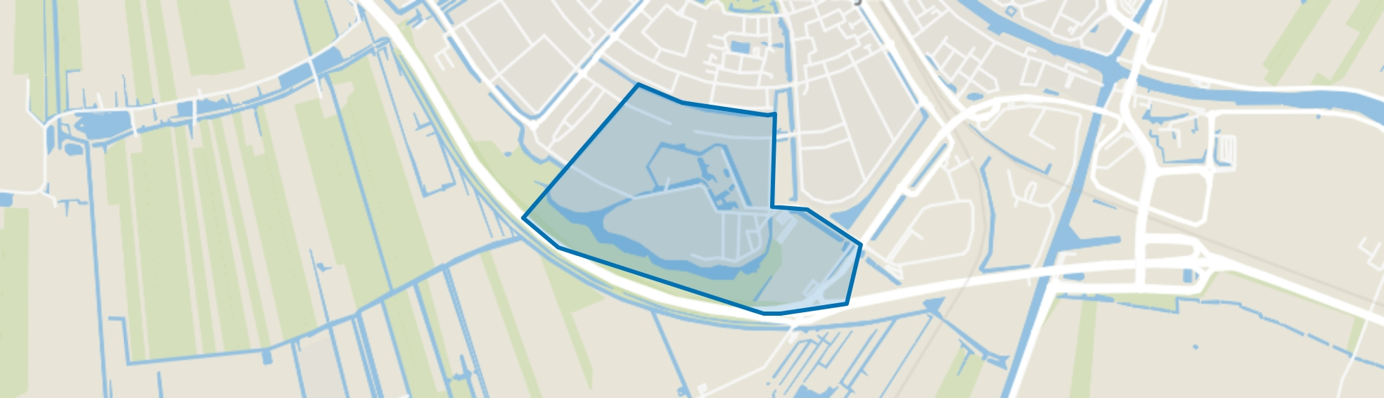 Archeon, Alphen aan den Rijn map
