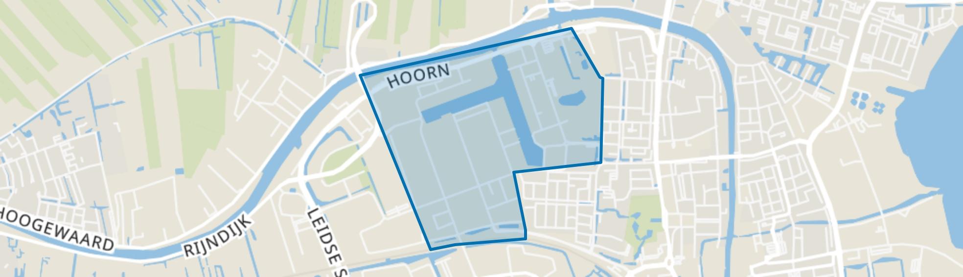 Bedrijventerrein Rijnhaven-Oost, Alphen aan den Rijn map
