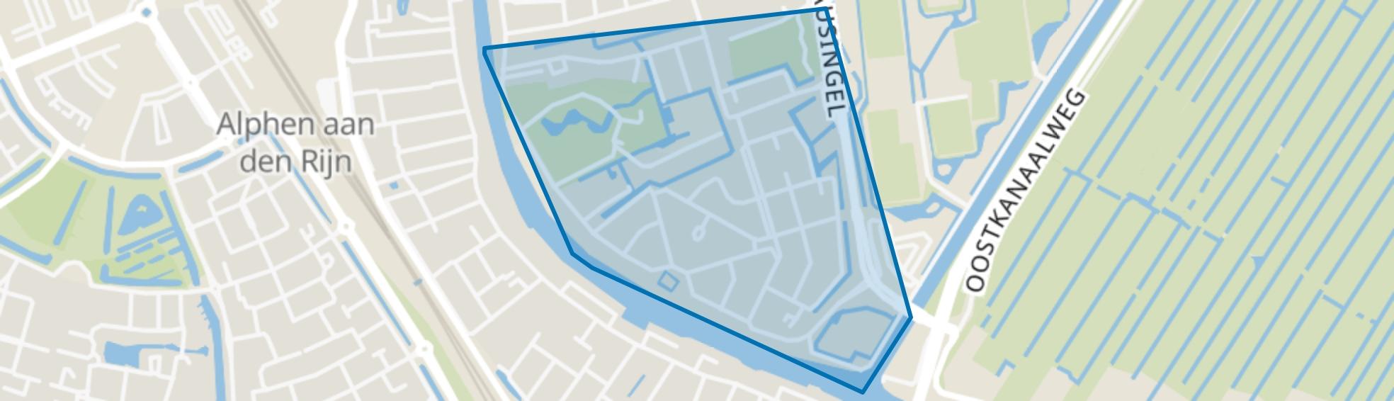 Beerendrecht, Alphen aan den Rijn map