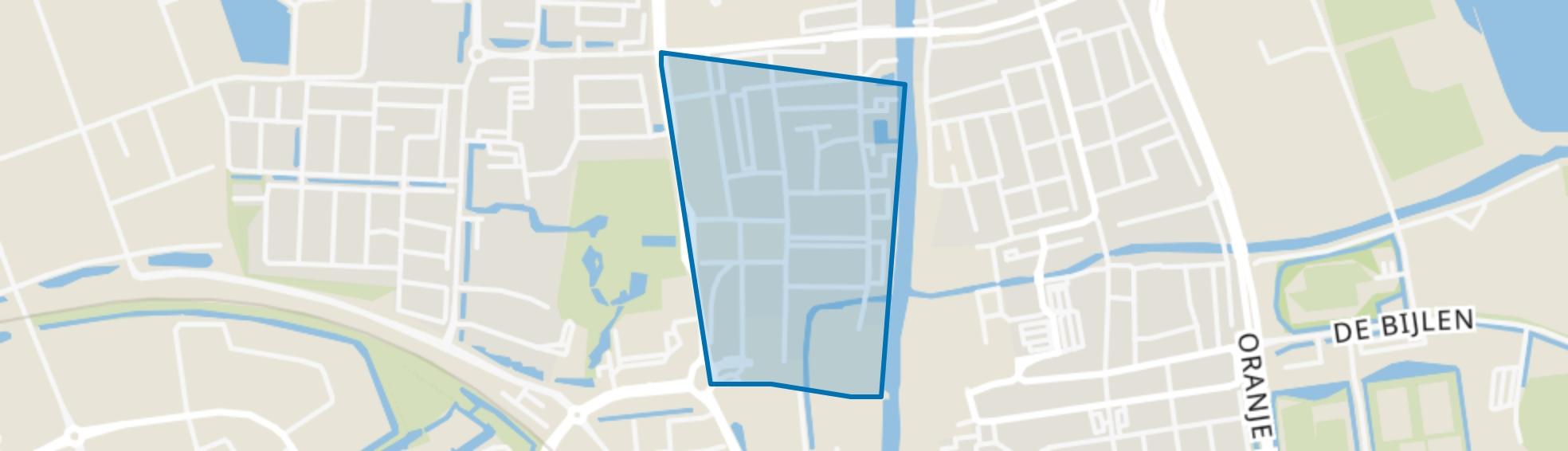 Burgemeester Visserpark, Alphen aan den Rijn map