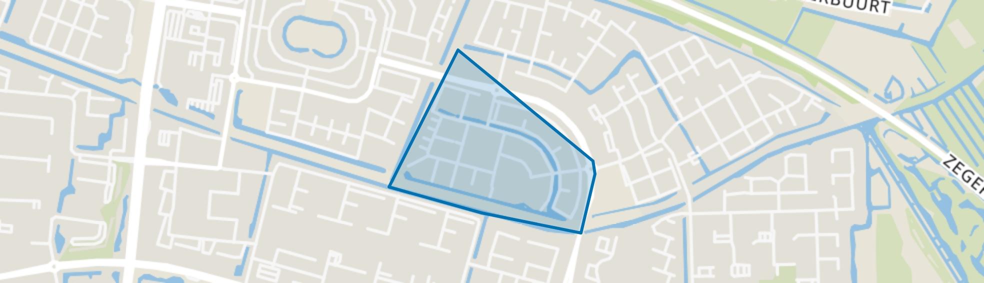 Burgtenbuurt, Alphen aan den Rijn map