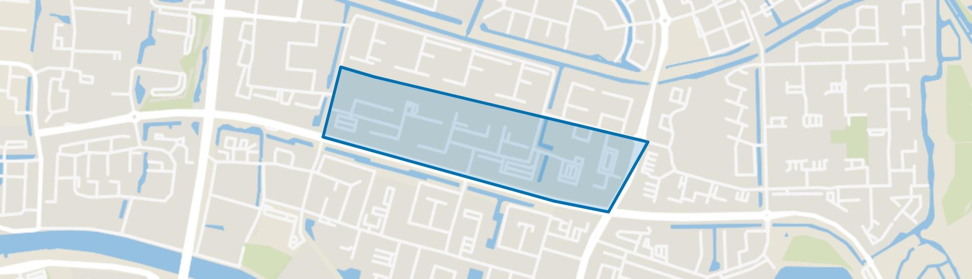 Componistenbuurt-Zuid, Alphen aan den Rijn map