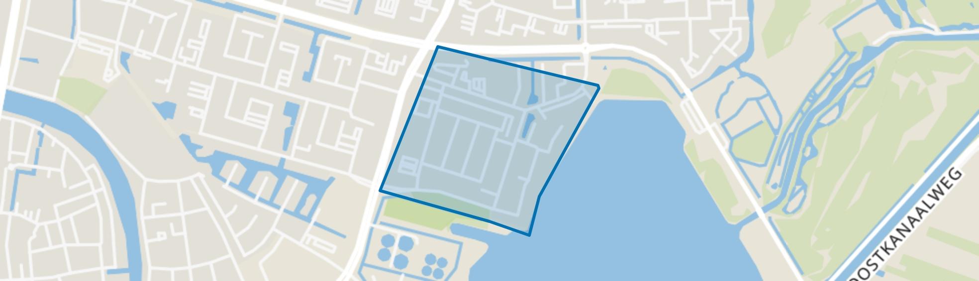 Edelstenenbuurt, Alphen aan den Rijn map