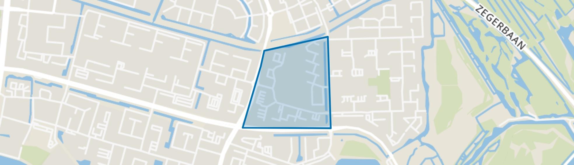 Ericapark, Alphen aan den Rijn map