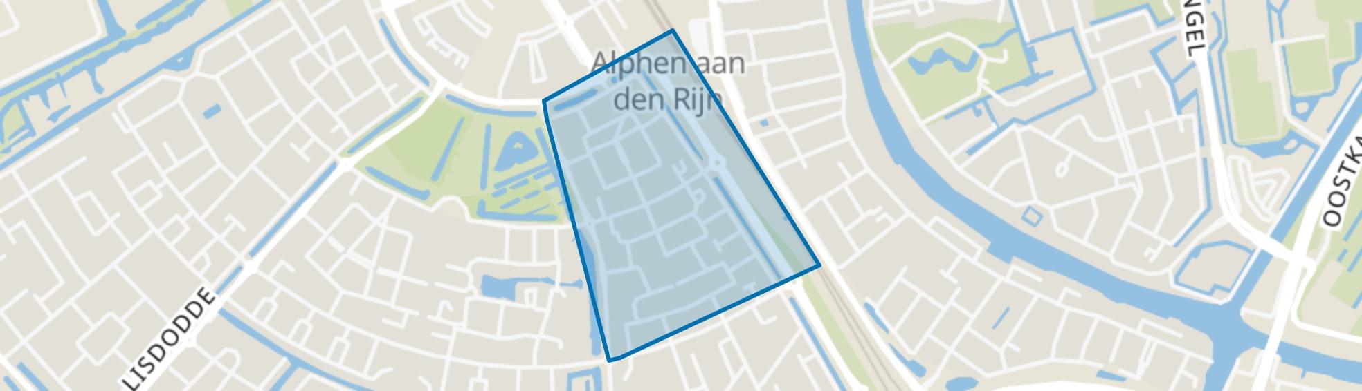 Evenaar-Oost, Alphen aan den Rijn map