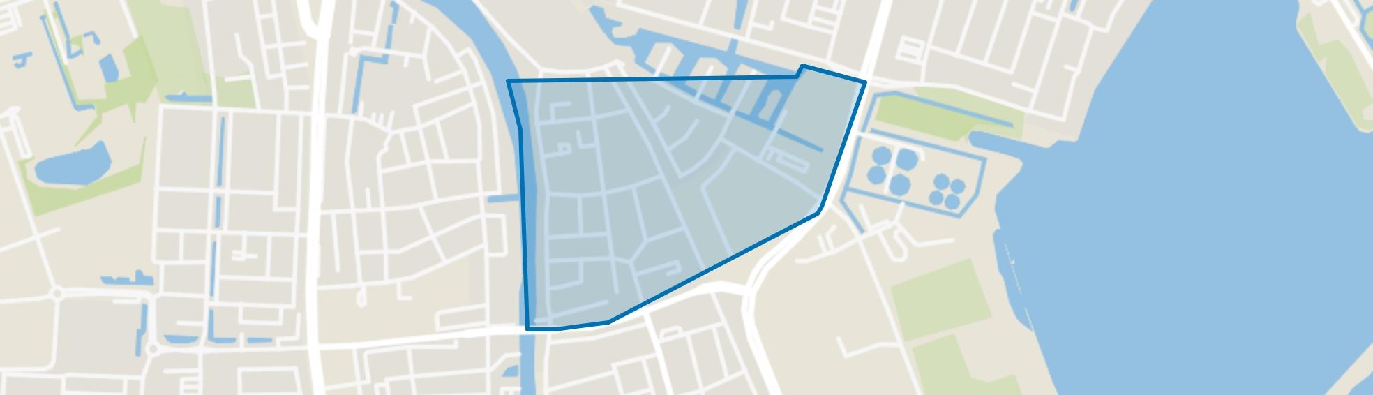 Nieuwe Sloot, Alphen aan den Rijn map