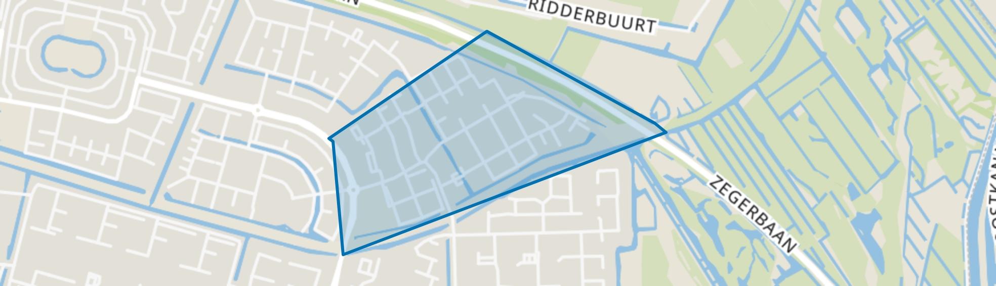 Paddestoelenbuurt, Alphen aan den Rijn map