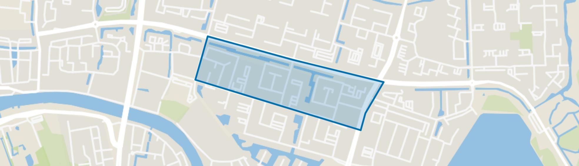 Planetenbuurt-Noord, Alphen aan den Rijn map