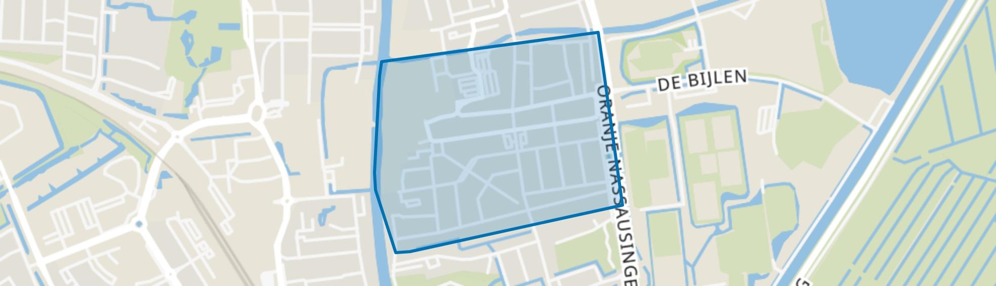 Van Boetzelaerstraat, Alphen aan den Rijn map