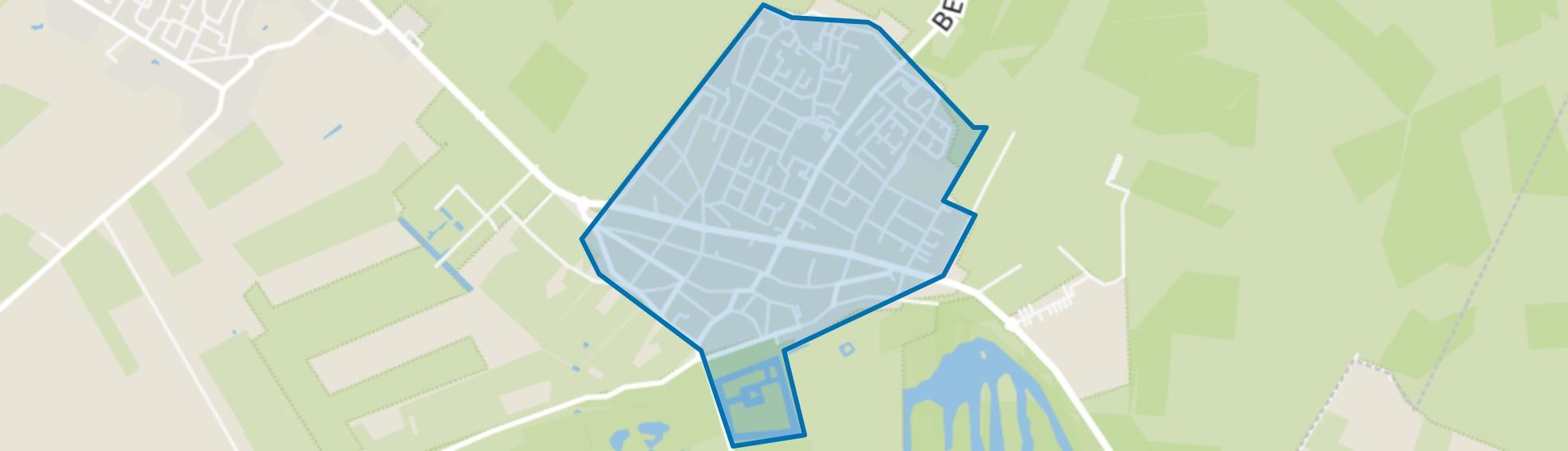 Amerongen, Amerongen map