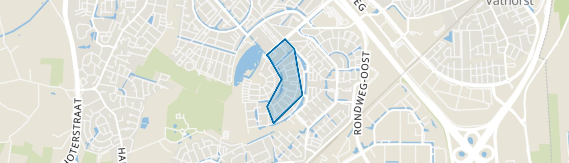 Architectenbuurt-Oost, Amersfoort map
